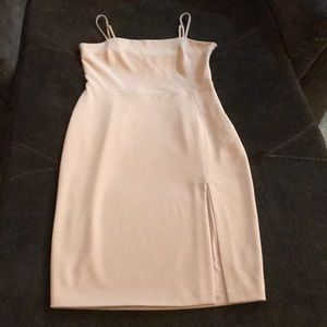 Dusty pink used dress